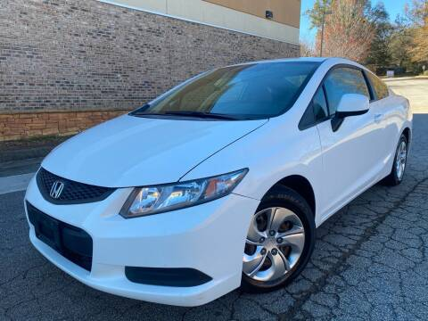 2013 Honda Civic for sale at Gwinnett Luxury Motors in Buford GA