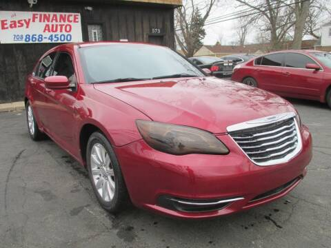 2014 Chrysler 200 for sale at EZ Finance Auto in Calumet City IL