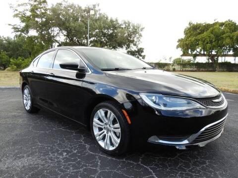 2015 Chrysler 200 for sale at SUPER DEAL MOTORS 441 in Hollywood FL