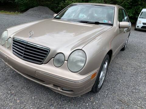 2002 Mercedes-Benz E-Class for sale at JM Auto Sales in Shenandoah PA