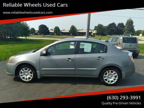 2010 Nissan Sentra for sale at Reliable Wheels Used Cars in West Chicago IL