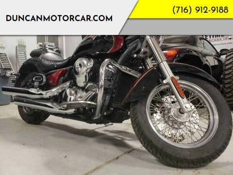 2008 Kawasaki Vulcan 900 for sale at DuncanMotorcar.com in Buffalo NY