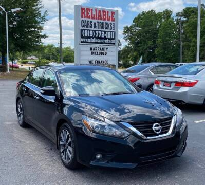 2016 Nissan Altima for sale at Reliable Cars & Trucks LLC in Raleigh NC