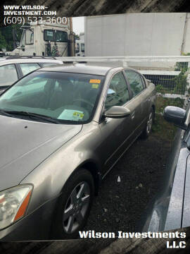 2003 Nissan Altima for sale at Wilson Investments LLC in Ewing NJ