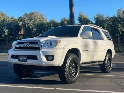 2008 Toyota 4Runner for sale at Z Carz Inc. in San Carlos CA