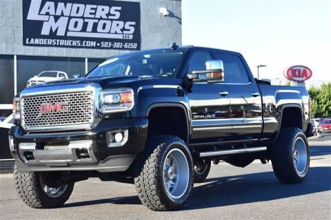 2017 GMC Sierra 2500HD for sale at Landers Motors in Gresham OR