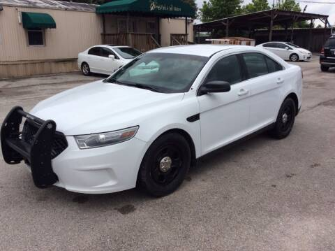2013 Ford Taurus for sale at OASIS PARK & SELL in Spring TX