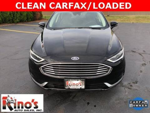 2019 Ford Fusion for sale at Rino's Auto Sales in Celina OH