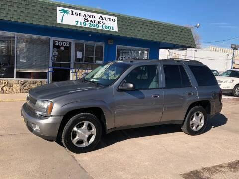 2005 Chevrolet TrailBlazer for sale at Island Auto Sales in Colorado Springs CO