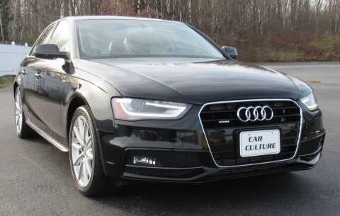 2016 Audi A4 for sale at Car Culture in Warren OH