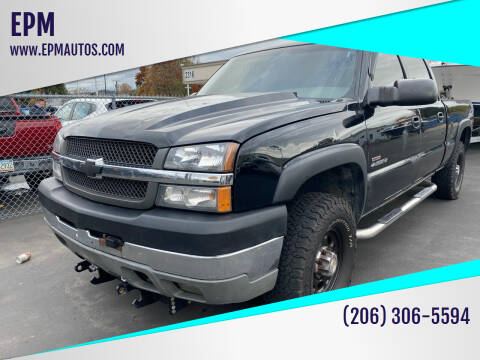 2003 Chevrolet Silverado 2500HD for sale at EPM in Auburn WA
