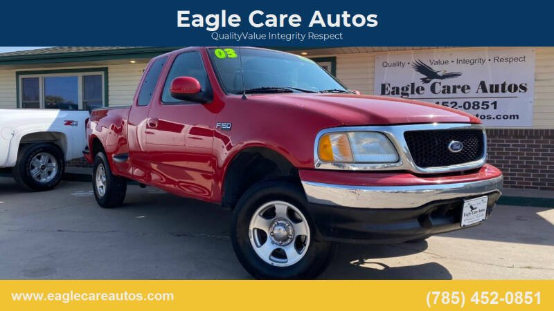 2003 Ford F-150 for sale at Eagle Care Autos in Mcpherson KS