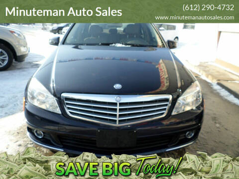 2011 Mercedes-Benz C-Class for sale at Minuteman Auto Sales in Saint Paul MN