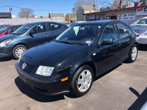 2000 Volkswagen Jetta for sale at BIG C MOTORS in Linden NJ