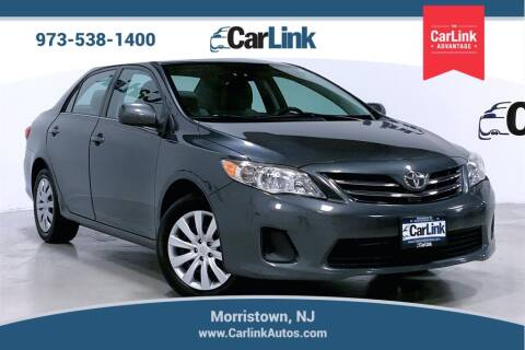 2013 Toyota Corolla for sale at CarLink in Morristown NJ