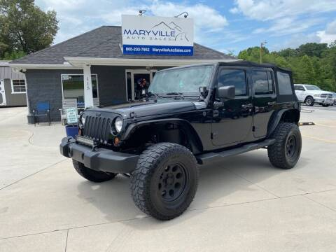 2010 Jeep Wrangler Unlimited for sale at Maryville Auto Sales in Maryville TN
