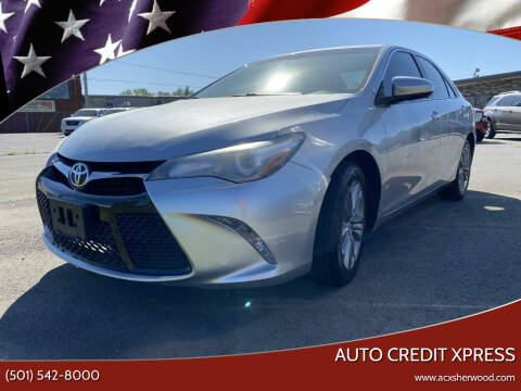 2016 Toyota Camry for sale at Auto Credit Xpress in North Little Rock AR