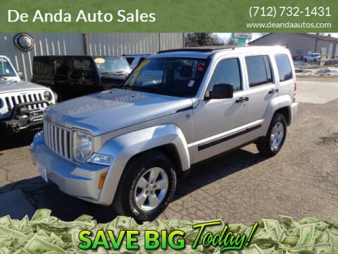 2011 Jeep Liberty for sale at De Anda Auto Sales in Storm Lake IA