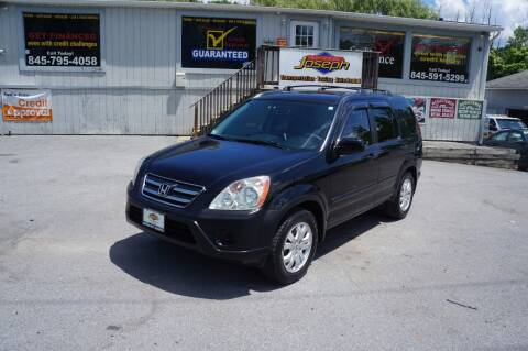 2005 Honda CR-V for sale at Autos By Joseph Inc in Highland NY