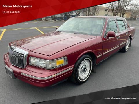 1997 Lincoln Town Car for sale at Klean Motorsports in Skokie IL