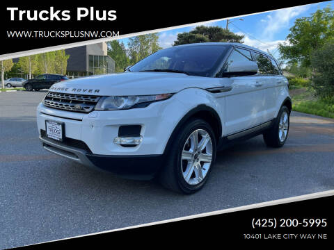 2013 Land Rover Range Rover Evoque for sale at Trucks Plus in Seattle WA