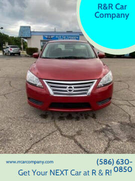 2014 Nissan Sentra for sale at R&R Car Company in Mount Clemens MI