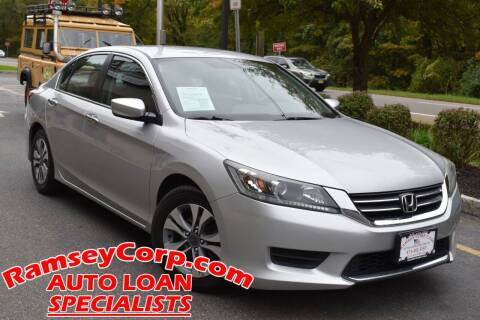 2014 Honda Accord for sale at Ramsey Corp. in West Milford NJ