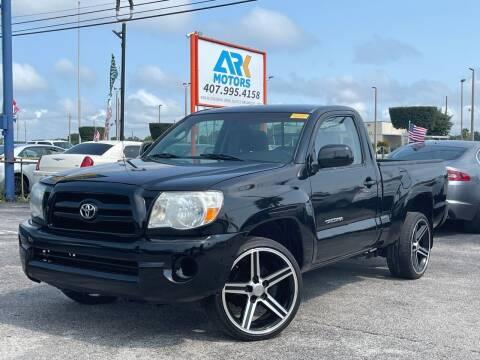 2006 Toyota Tacoma for sale at Ark Motors LLC in Orlando FL
