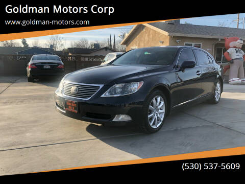 2009 Lexus LS 460 for sale at Goldman Motors Corp in Stockton CA