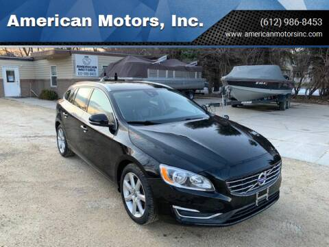 2016 Volvo V60 for sale at American Motors, Inc. in Farmington MN