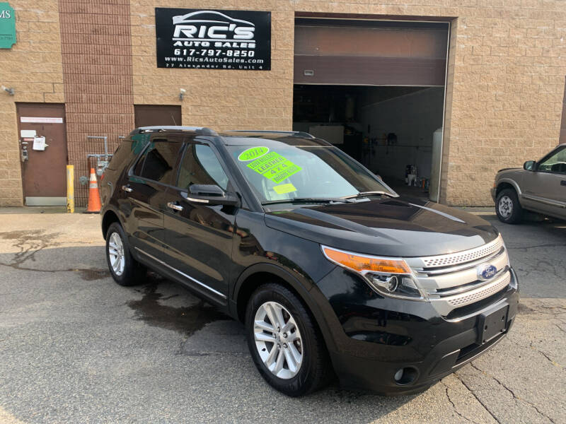 2014 Ford Explorer for sale at Ric's Auto Sales in Billerica MA