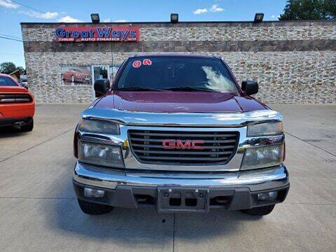 2004 GMC Canyon for sale at Great Ways Auto Finance in Redford MI