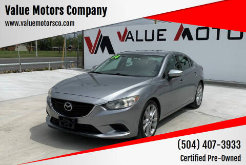 2014 Mazda MAZDA6 for sale at Value Motors Company in Marrero LA