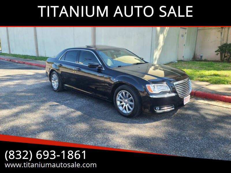 2014 Chrysler 300 for sale at TITANIUM AUTO SALE in Houston TX