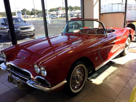 1962 Cheverolet Corvette for sale at Classic Connections in Greenville NC