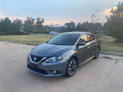 2016 Nissan Sentra for sale at QUEST MOTORS in Englewood CO