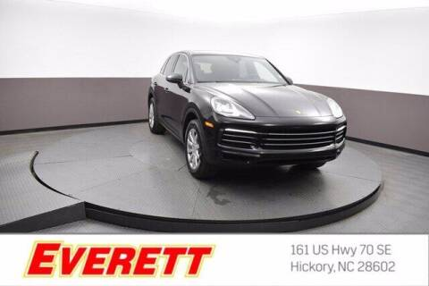 2020 Porsche Cayenne for sale at Everett Chevrolet Buick GMC in Hickory NC