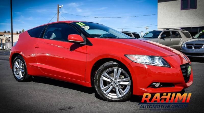 2011 Honda CR-Z for sale at Rahimi Automotive Group in Yuma AZ