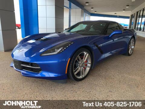 2019 Chevrolet Corvette for sale at JOHN HOLT AUTO GROUP, INC. in Chickasha OK