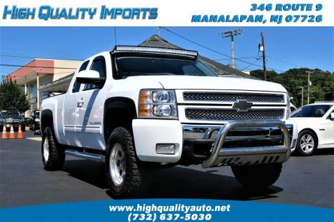 2012 Chevrolet Silverado 1500 for sale at High Quality Imports in Manalapan NJ