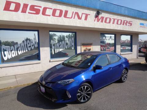 2017 Toyota Corolla for sale at Discount Motors in Pueblo CO