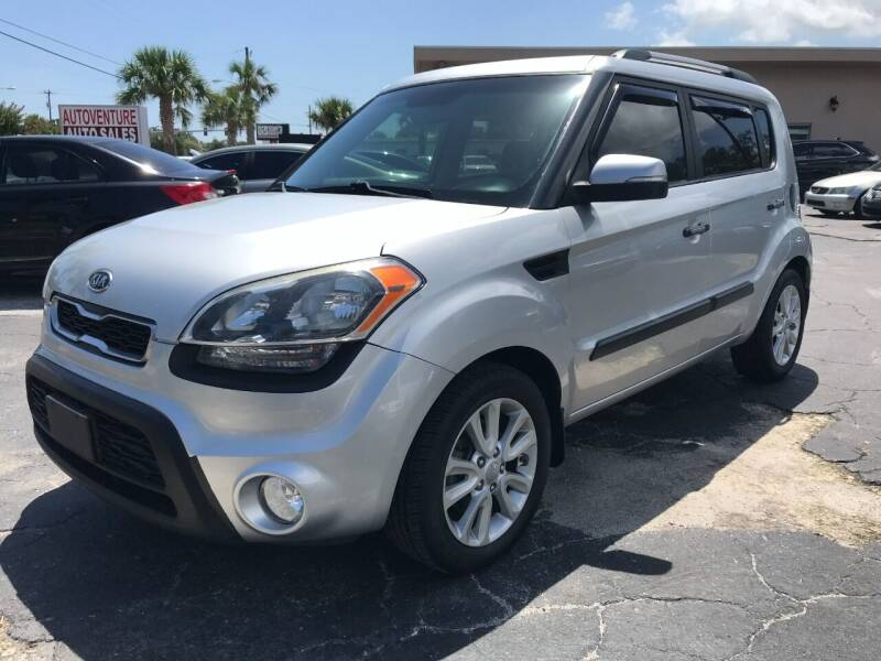 2012 Kia Soul for sale at AutoVenture Sales And Rentals in Holly Hill FL