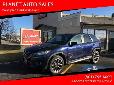 2016 Mazda CX-5 for sale at PLANET AUTO SALES in Lindon UT
