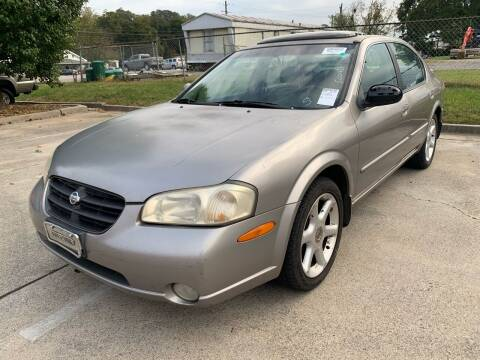 2001 Nissan Maxima for sale at Diana Rico LLC in Dalton GA
