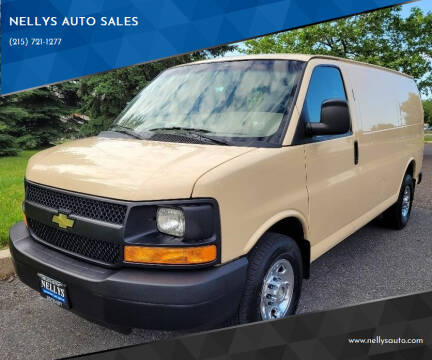 2013 Chevrolet Express Cargo for sale at NELLYS AUTO SALES in Souderton PA