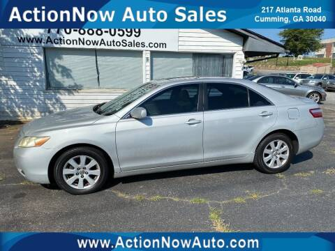 2008 Toyota Camry for sale at ACTION NOW AUTO SALES in Cumming GA