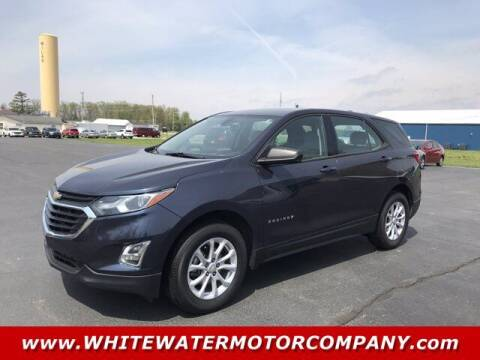 2018 Chevrolet Equinox for sale at WHITEWATER MOTOR CO in Milan IN
