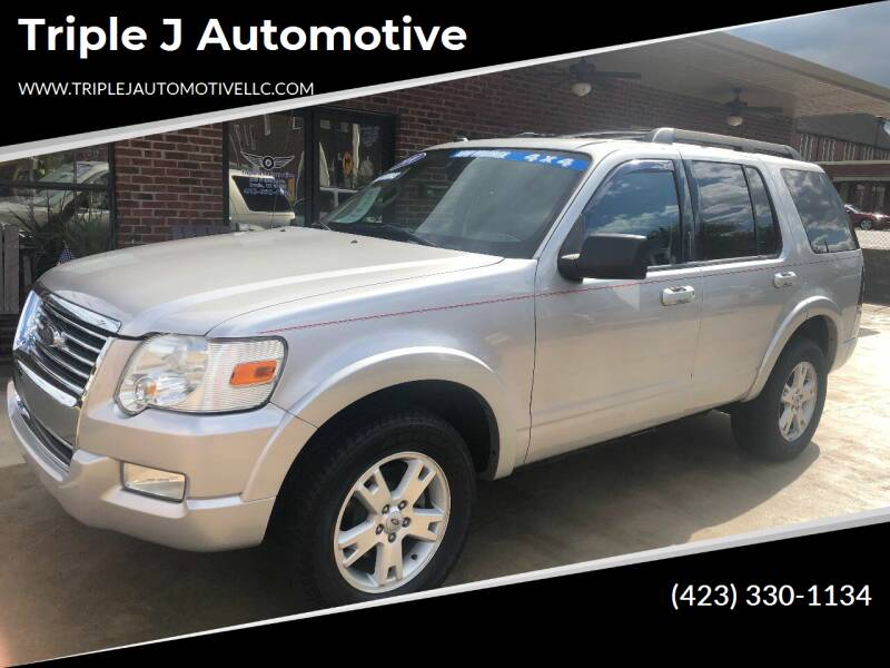 2010 Ford Explorer for sale at Triple J Automotive in Erwin TN
