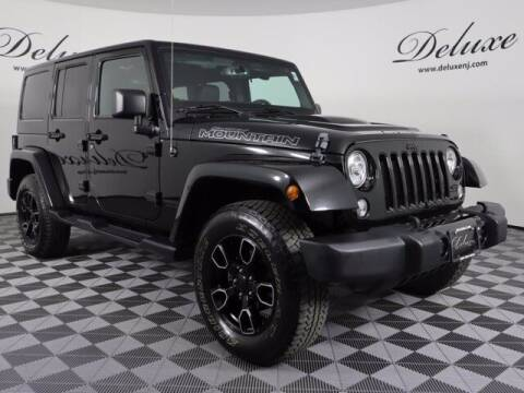2017 Jeep Wrangler Unlimited for sale at DeluxeNJ.com in Linden NJ