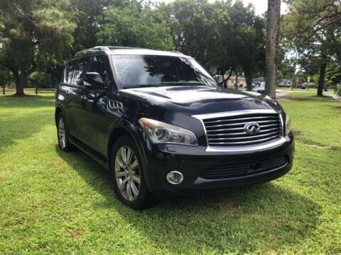 2011 Infiniti QX56 for sale at ELITE AUTO WORLD in Fort Lauderdale FL